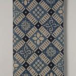 2008藍染絞飾布 250×110