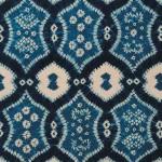 2006 藍染絞綿飾布 230×110