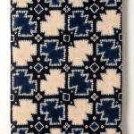 2013 藍染絞綿飾布 250×116