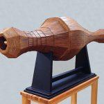 170×220×70cm 杉皮、合板