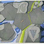 亜鉛凹版(64 x 84.2cm)エッチング・ドライポイント・ビュラン
