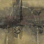 木版 ( 100 x 110cm )