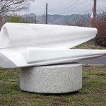 100×200×100cm 大理石、白御影石