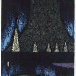 木版・コラグラフ ( 100cm X 69cm)