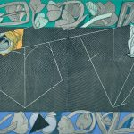 亜鉛凹版・エッチング・アクアチント・メゾチント・ビュラン(64 x 84.2cm)