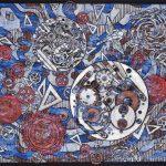 木版 (82 x 110cm)