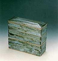 河井寛次郎 「陶函」 22.7×25cm 1939年 日本民芸館蔵