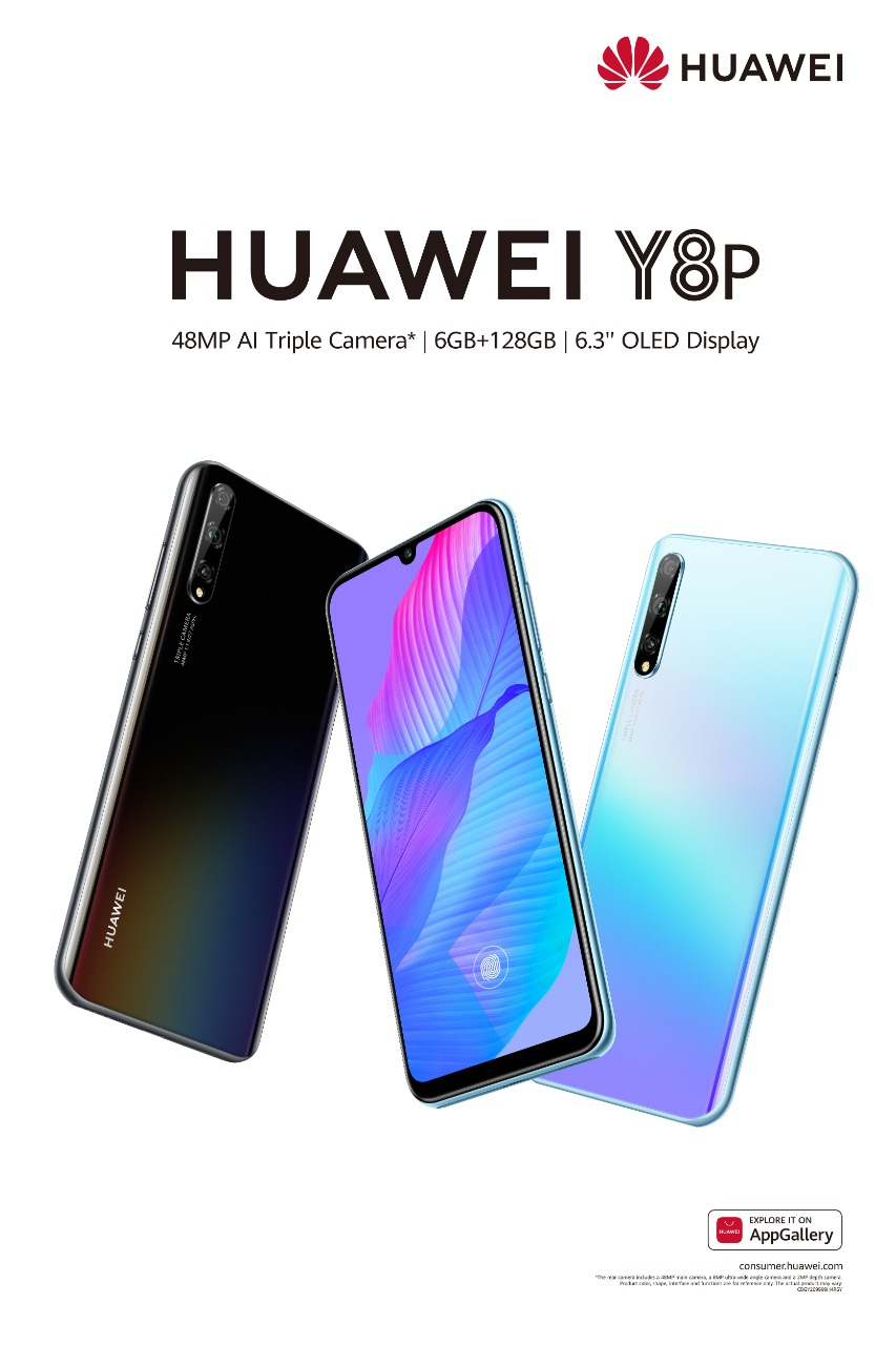 HUAWEI Y8p is the Ultimate Champion with its 48 MP AI Triple ...