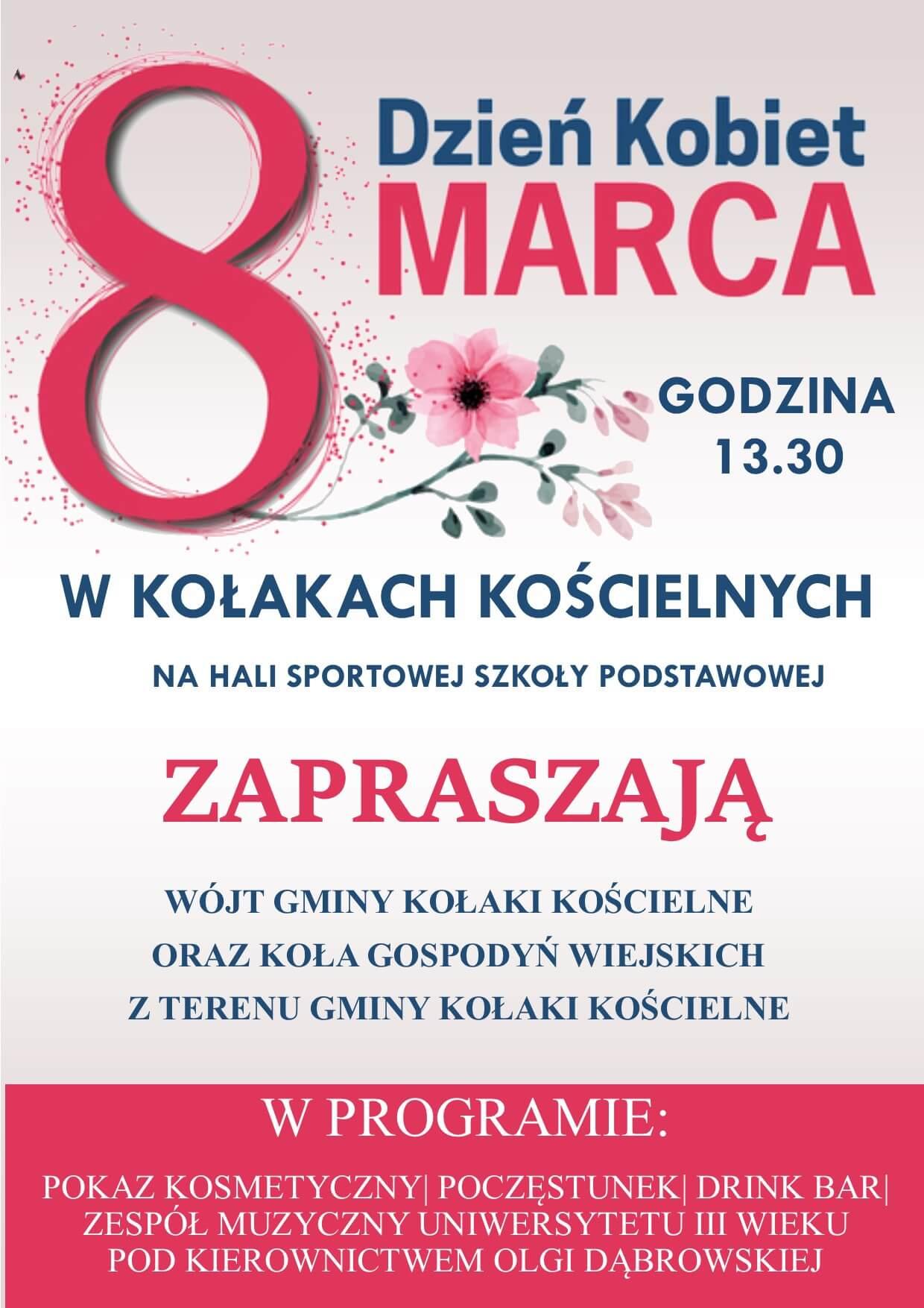 Zaproszenie – Dzień Kobiet