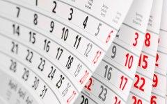 Religious School Calendar