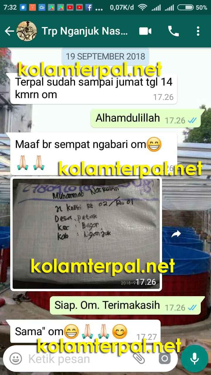 Testimoni Jual Kolam Terpal koamterpal.net