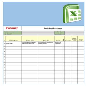 Onomy Proje Set 1 - Proje Problem Kaydı