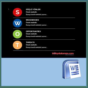 SWOT analizi ne işe yarar?