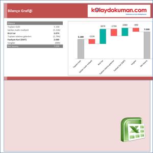 Excel Bilanço Grafiği