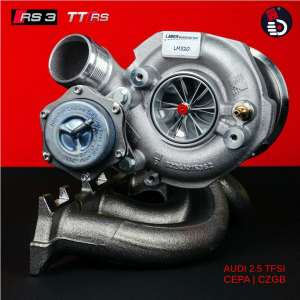 LM520 Turbo Upgrade AUDI CEPA RS3 8P RS 3 TT RS 8J TTRS Turbolader Hybrid Upgradelader Turbocharger KolbenKraft Ladermanufaktur