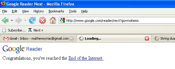 The End of The Internet