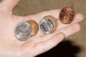 Ритуал с монетками