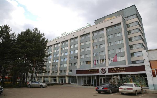 Komsomolsk nad Amurem, hotel Voskhod