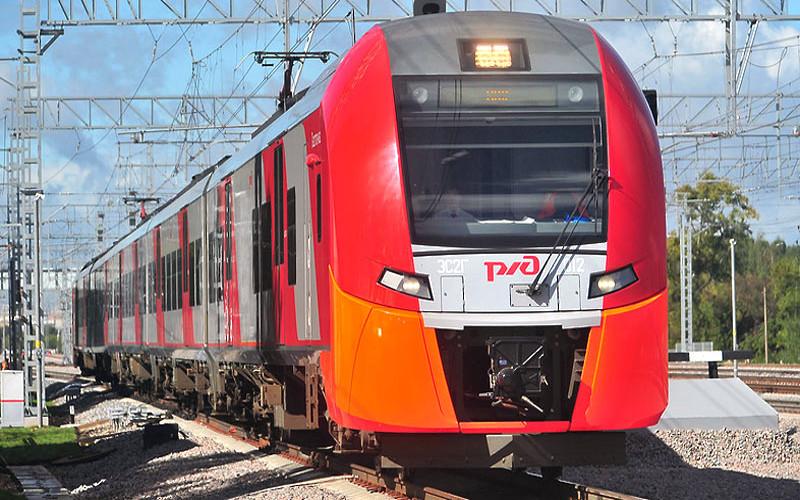 Pociąg Lastoczka z Moskwy do Niżnego Nowogrodu