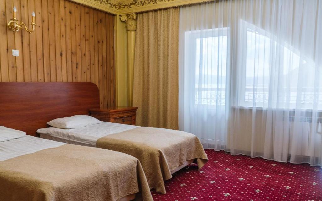 Dwójka w hotelu Legenda Bajkału w Listwiance