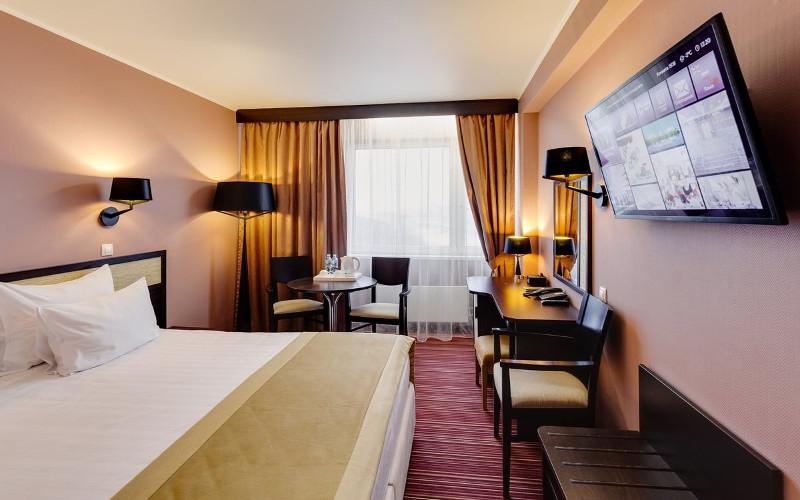 Pokój dwuosobowy w hotelu Izmailovo w Moskwie