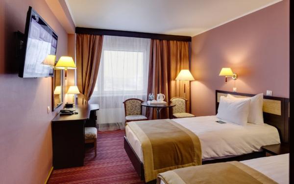 Pokój jednoosobowy w hotelu Izmailovo w Moskwie