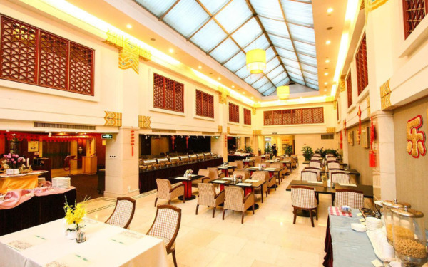 Restauracja w hotelu Jade Garden w Pekinie
