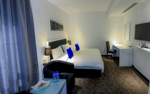 Pokój dwuosobowy w hotelu Khuvsgul Lake w Ułan Bator