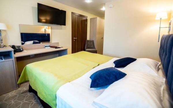 Pokój dwuosobowy w hotelu Zhemchuzhina