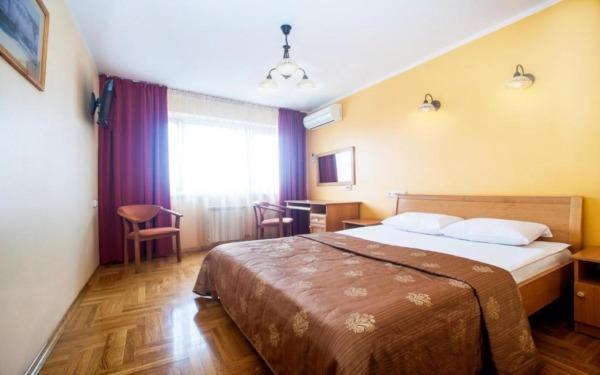 Pokój dwuosobowy w hotelu Krasnoyarsk w Krasnojarsku