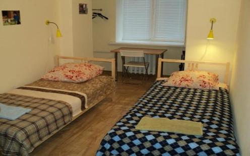 Pokój dwuosobowy w hostelu Sibtour w Krasnojarsku