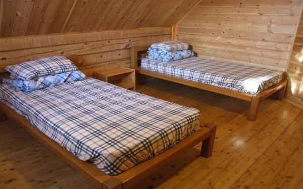 Twin w hostelu Belka
