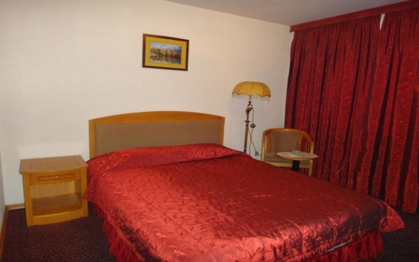 Pokój dwuosobowy w hotelu Primorye we Władywostoku