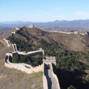 Mur Chiński w okolicach Pekinu