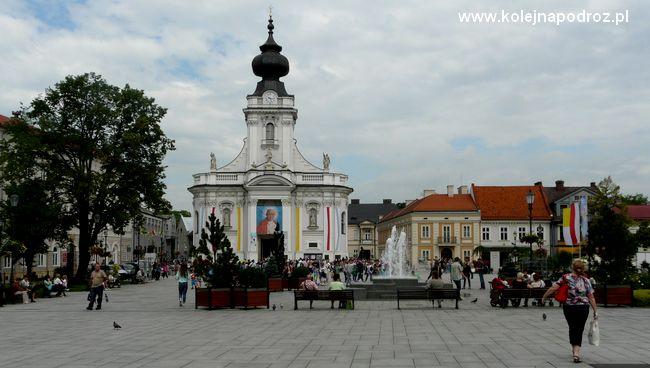 Wadowice - Plac Jana Pawła II