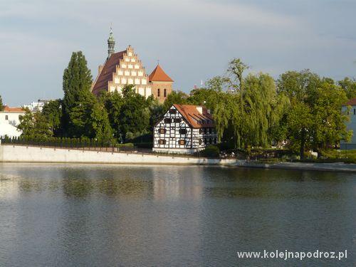Bydgoszcz - widok na Wyspę Młyńską