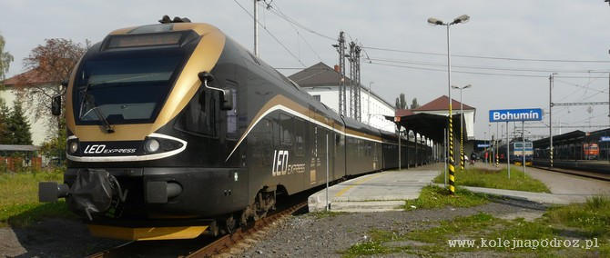 Pociąg Leo Express Kraków – Praga – rozkład