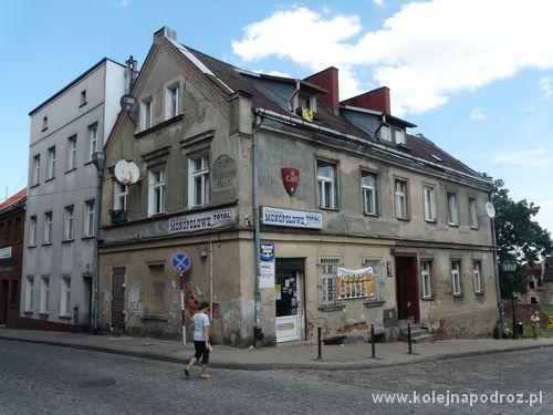 Tczew - centrum miasta