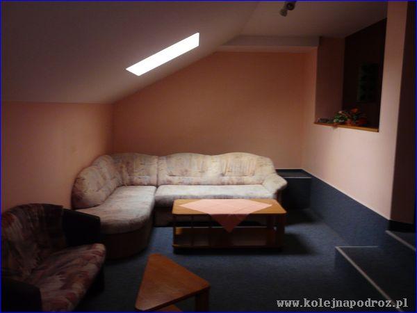 Hotel Lipa - salon na korytarzu
