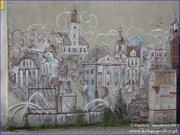 Rybnik - mural