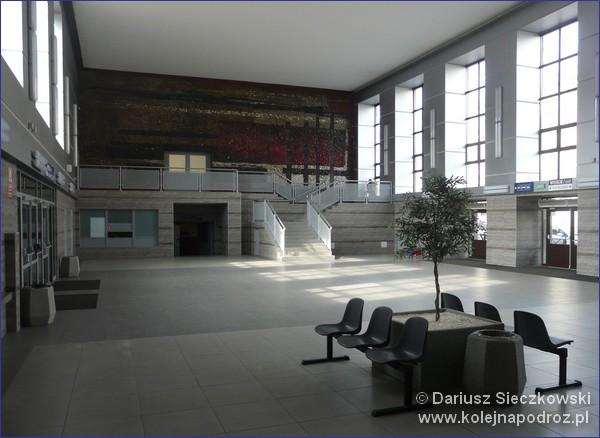 Dworzec kolejowy w Bytomiu