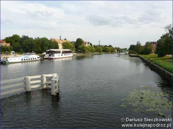 Kanał w Elblągu
