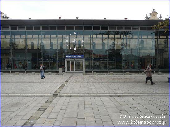 Ostrava-Svinov - wejście