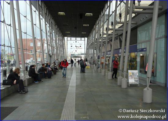 Ostrava-Svinov - hol dworca