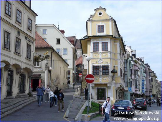 Bratysława - podobno najwęższy dom w Europie