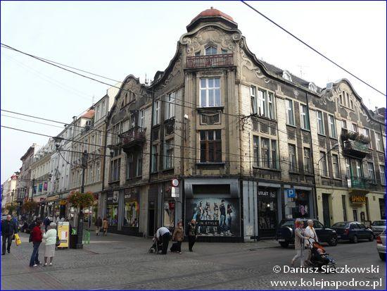 Bytom - ulica Dworcowa