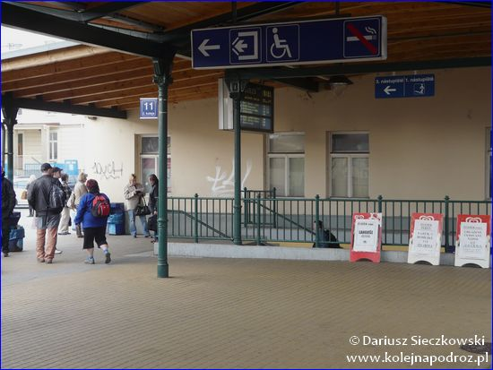 Opava-Východ - peron 1
