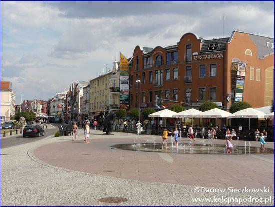Malbork - centrum miasta