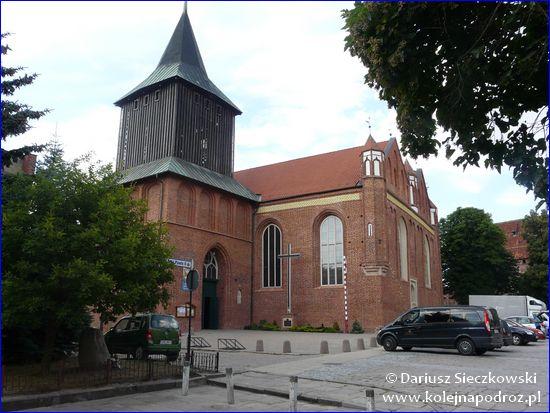 Malbork - kościół św. Jana Chrzciciela