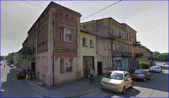 Czeladzka, niebezpieczne miejsce (źródło: Google Maps)